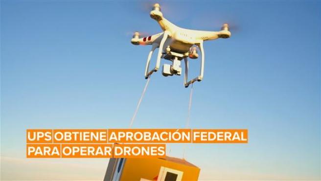 La compañía UPS empezará a hacer entregas con drones
