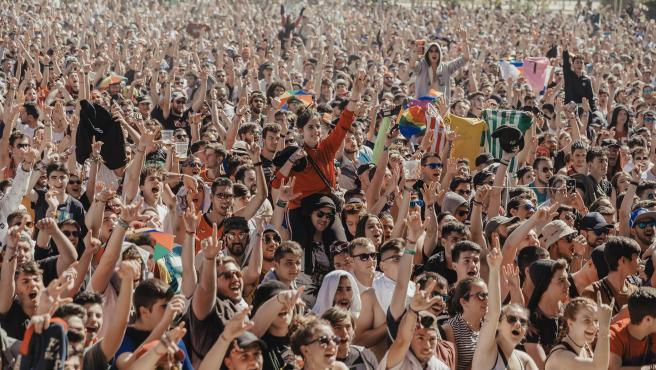 Público en un concierto del festival 'Viña Rock'.