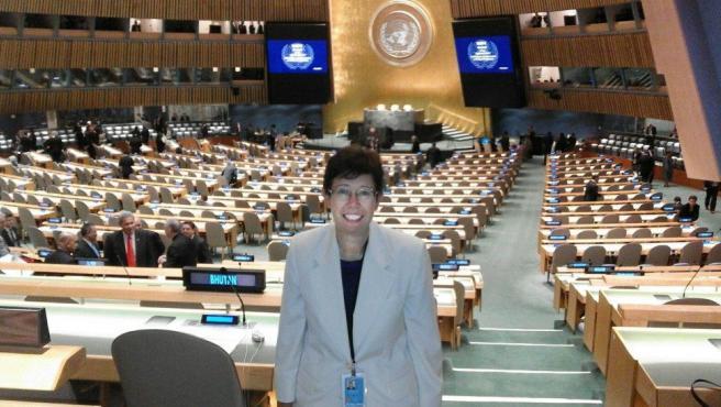 Francesca Di Giovanni, en la sede de las Naciones Unidas.