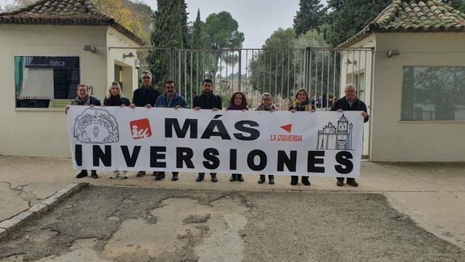 """Adelante reclama más """"compromiso financiero"""" con Itálica de cara a su candidatura al Patrimonio Mundial"""