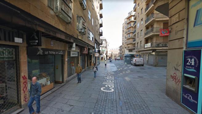 Calle Prior de Salamanca