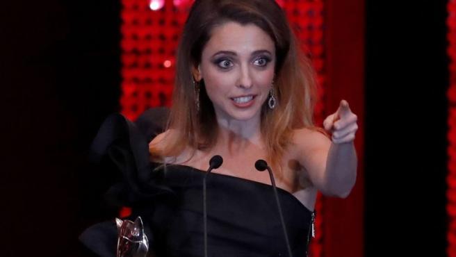 Leticia Dolera, en la entrega de los Premios Feroz