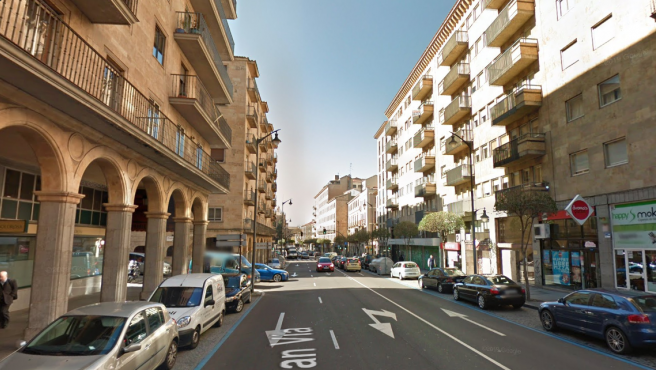 Gran vía de Salamanca.