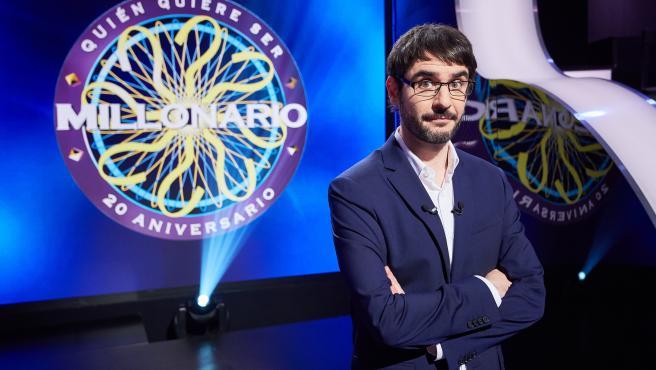 Juanra Bonet, presentador de ¿Quién quiere ser millonario?