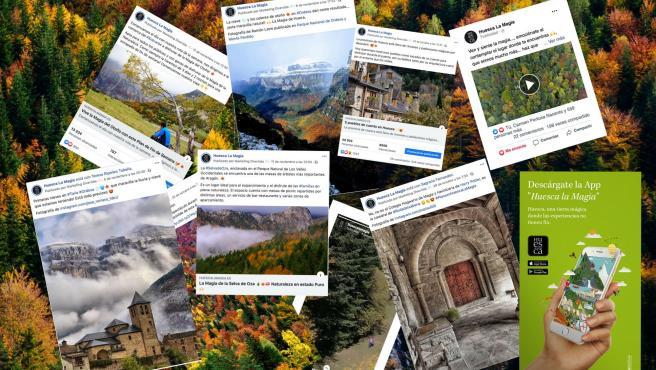 La campaña de Huesca la Magia este otoño llega a un millón de usuarios únicos y logra cuatro millones de impactos