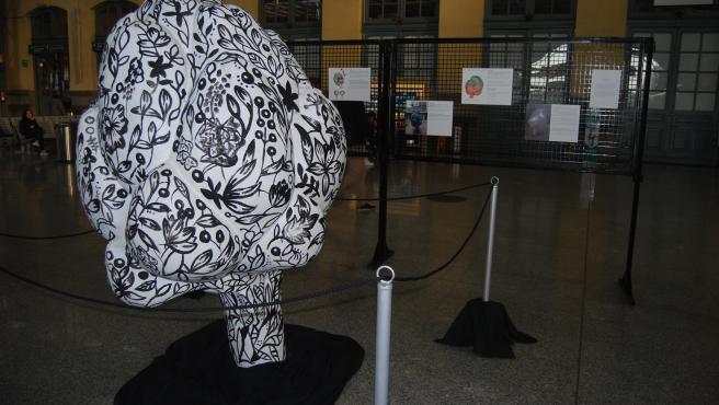 L'estació de València Nord acull una mostra explicativa sobre la ?Festa de la Carxofa 2020? de Benicarló