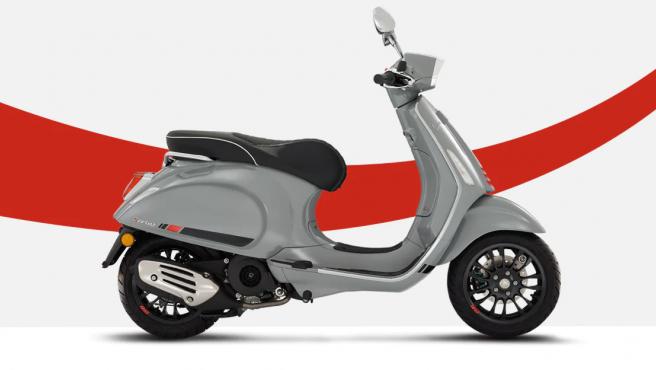 Vespa Sprint, disponible a partir de 3.149 euros.