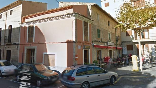 Imagen del despacho receptor de Loterías de Alaró, Baleares.