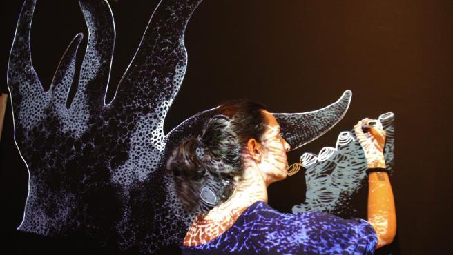 El Casal Solleric acoge la exposición 'Teixit conjuntiu' de la artista Tonina Matamalas