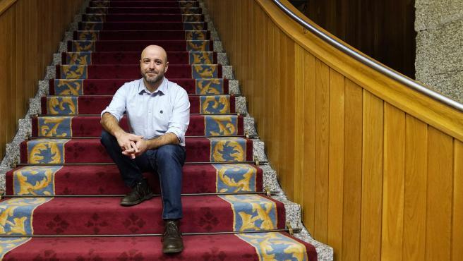 Entrevista a Luis Villares, portavoz de En Marea en el Parlamento de Galicia