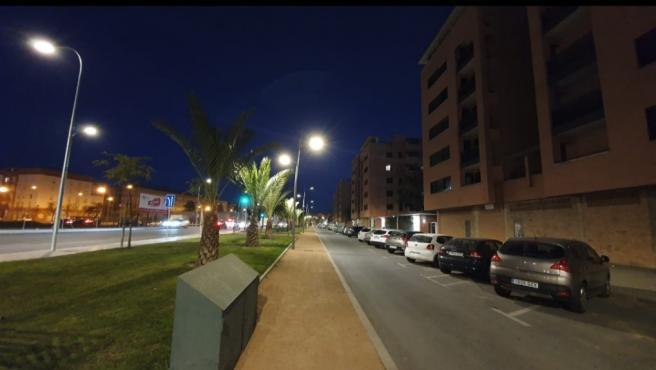 Infraestructuras ilumina la Cañada Real Mestas tras años de demanda vecinal