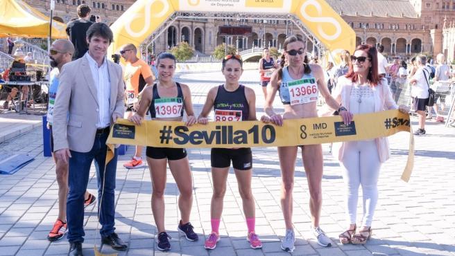Abren este lunes la inscripción para correr con uno de los 50.000 dorsales disponibles el circuito #Sevilla10