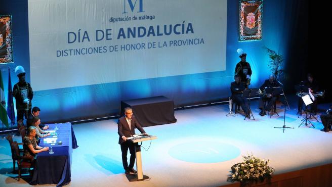 Autismo Málaga, Pérez Casero, Rincón Fertilidad y Málaga Hoy, premiados por Diputación el Día de Andalucía