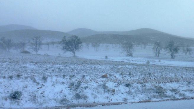 C-LM suspende este lunes la actividad lectiva en Hellín, Almansa y sierras de Alcaraz y del Segura por nieve