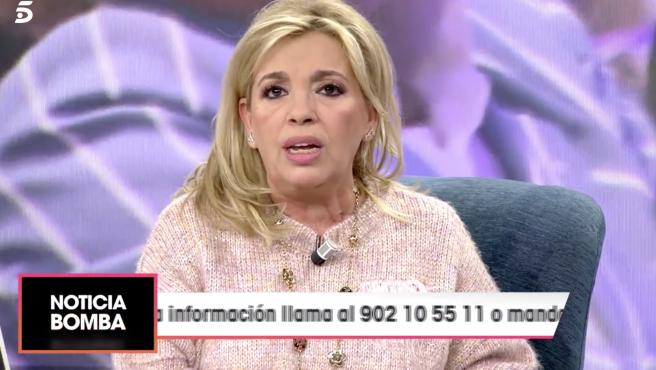 Carmen Borrego, en 'Viva la vida'.