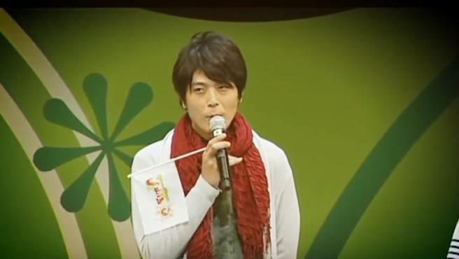 El actor de voz y cantante Hiroki Takahashi.