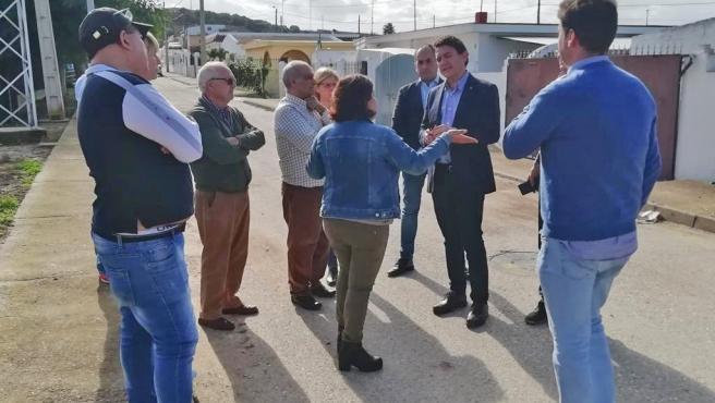Junta apuesta por conectar el Jerez rural y el urbano con el arreglo de la vía pecuaria en Rajamancera