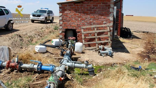 Pozos ilegales de agua