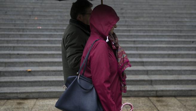 SEVILLA, 22.11.19. Temperaturas. Rachas de viento y lluvia en la capital hispalense.