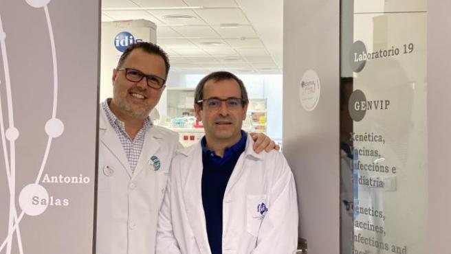 Federico Martinón (i), y Antonio Salas (d), miembros del IDIS FdV.
