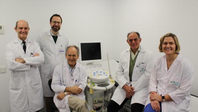 El equipo de investigadores que ha realizado el estudio.