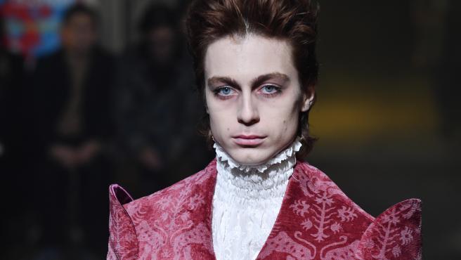 Pasarela de Palomo Spain en la Paris Men's Fashion Week F/W 2020/21