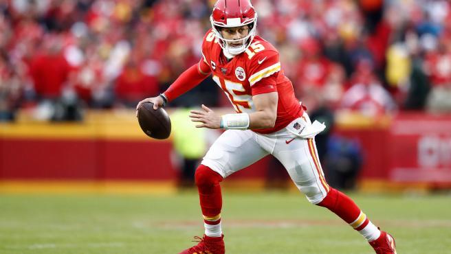 Patrick Mahomes, quarterback de Kansas City Chiefs.