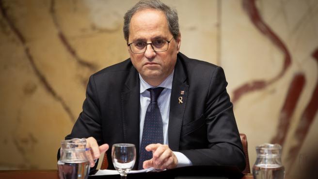 """Torra sobre el juicio a la cúpula de los Mossos: """"La justicia se impondrá a la venganza"""""""