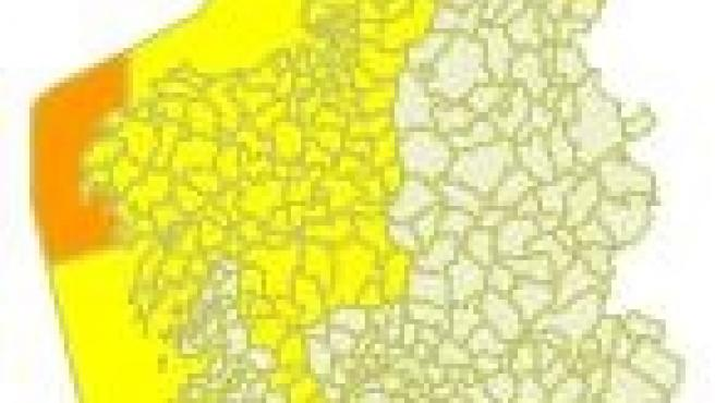 Avisos por viento en Galicia para el miércoles 22 de enero de 2020.