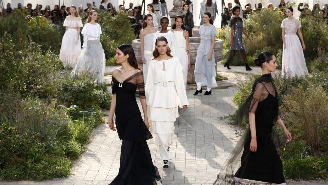 Desfile de Chanel de en la Semana de la moda de París 2020