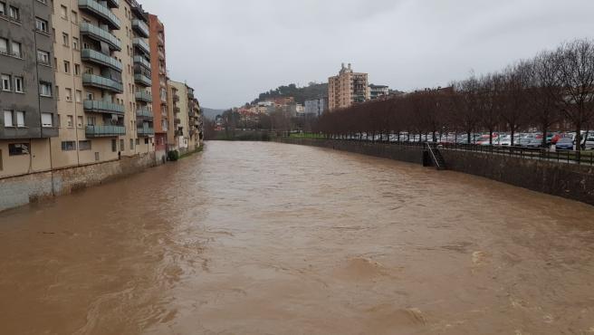 Girona activa el plan de emergencia por riesgo de desbordamiento del río Onyar