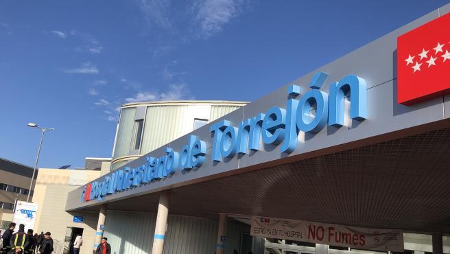 Imagen de recurso de la fachada principal del Hospital de Torrejón de Ardoz