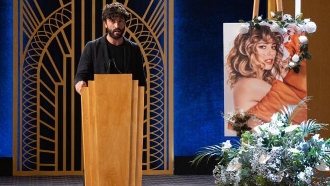 Javier Rey, en el 'funeral' de Blanca Suárez.