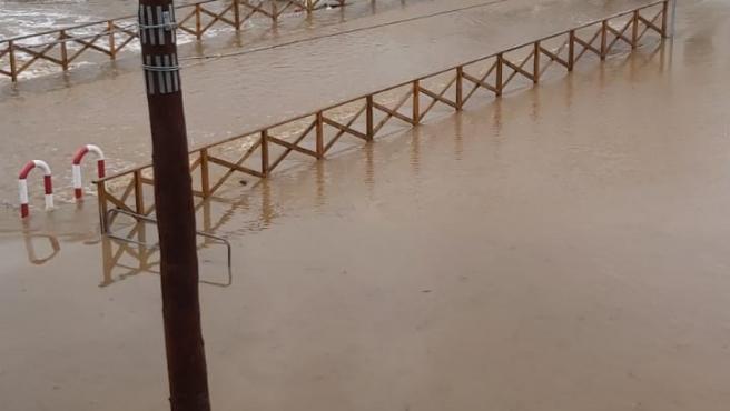 La borrasca Gloria causa desperfectos y pérdidas materiales en los Puertos de Baleares.