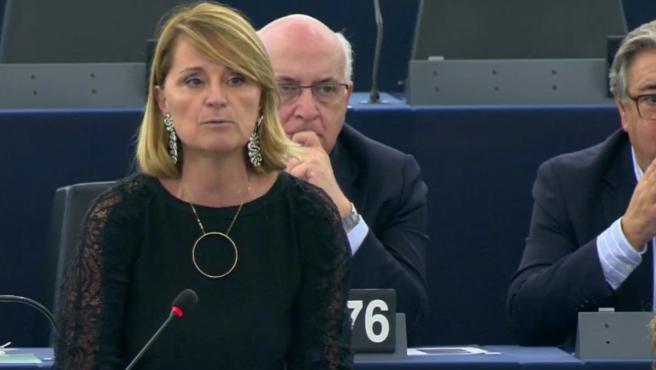 La eurodiputada del PP, Rosa Estarás.