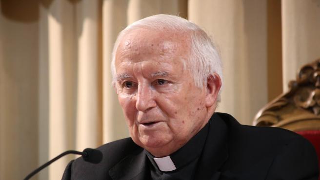 L'arquebisbe de València, Antonio Cañizares.