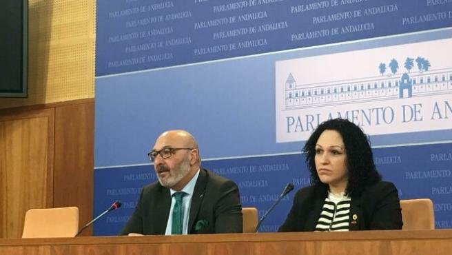 Imagen de archivo de la diputada de Vox por Almería Luz Belinda Rodríguez Fernández.