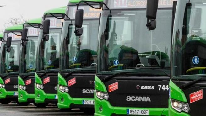 Autobuses interurbanos de la Comunidad de Madrid