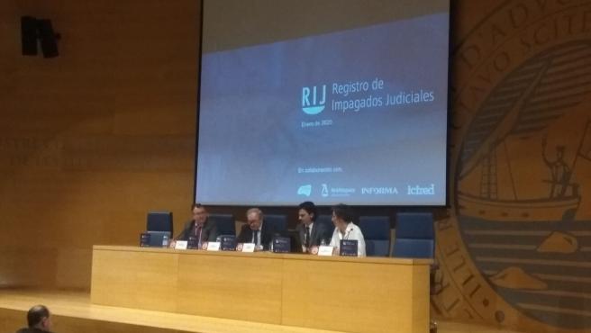 Colegio de Abogados de Palma. Conferencia sobre un nuevo registro de morosos.