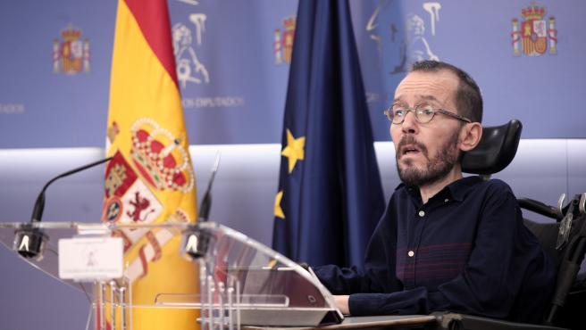 Echenique justifica la reforma del delito de sedición para que no se aplique a '