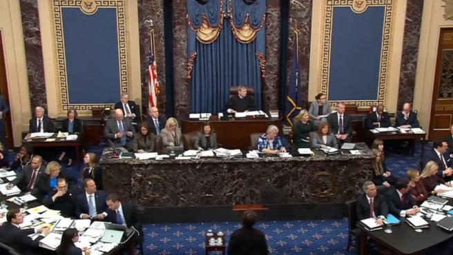 El Senado aprueba las normas del 'impeachment' contra Trump