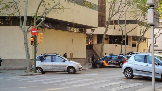 Jefatura de la Policía Nacional en Palma, en la calle Simó Ballester