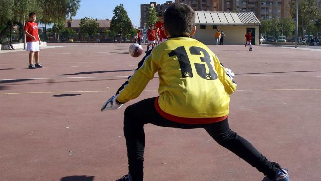 Práctica deportiva en la FDM de València.