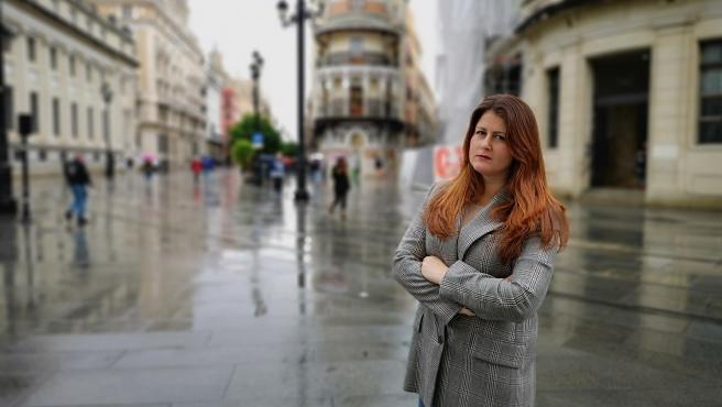 La portavoz de Adelante Sevilla en el Ayuntamiento hispalense, Susana Serrano