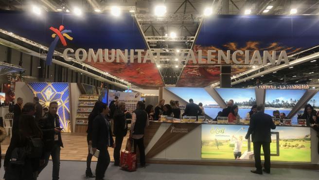 Stand de la Comunitat Valenciana en Fitur 2020