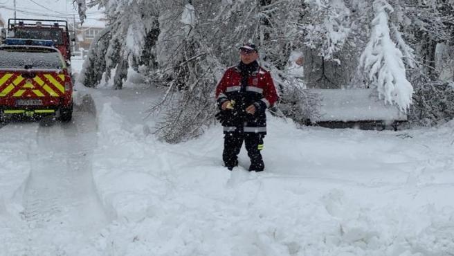 Temporal de lluvia y nieve en la Región