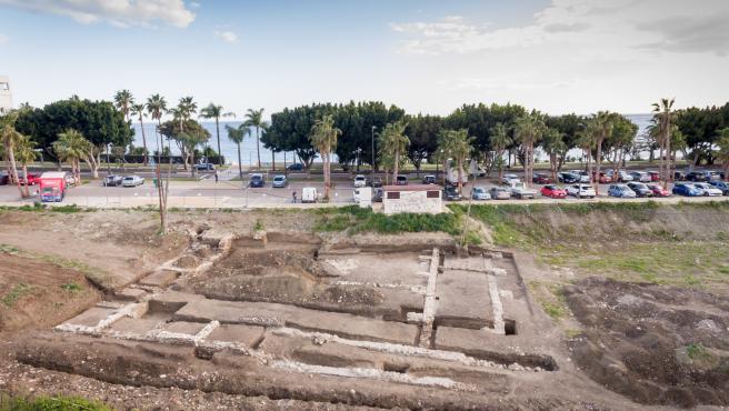 Asentamiento romano en la zona de La Cala en Estepona