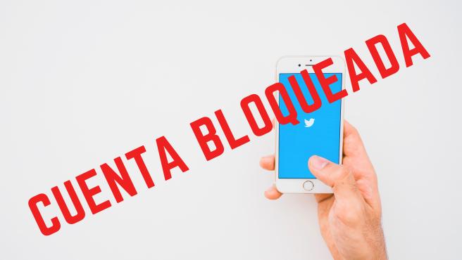 Twitter puede bloquear tu cuenta por spam, hackeo o comportamiento abusivo.