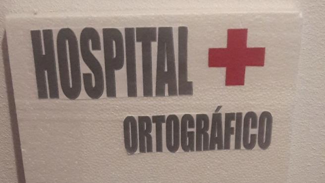 El Hospital Ortográfico de Verónica.