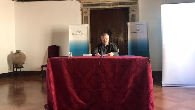 Taltavull, durante la presentación a los medios de la pastoral